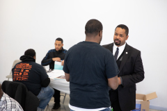 November 16, 2019: Senator Sharif Street hosts Healthcare Enrollment event.