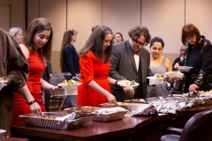 June 5, 2019: Sen. Street hosted a lunch at the Capitol to mark Eid Al-Fitr, a three day celebration that occurs at the end of the Islamic holy month of Ramadan. After avoiding food and water while the sun is up for the past month, Eid marks the breaking of the fast for Muslims around the world.