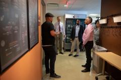 August 8, 2019: Senator Sharif Street tours the Esperanza Health Center.