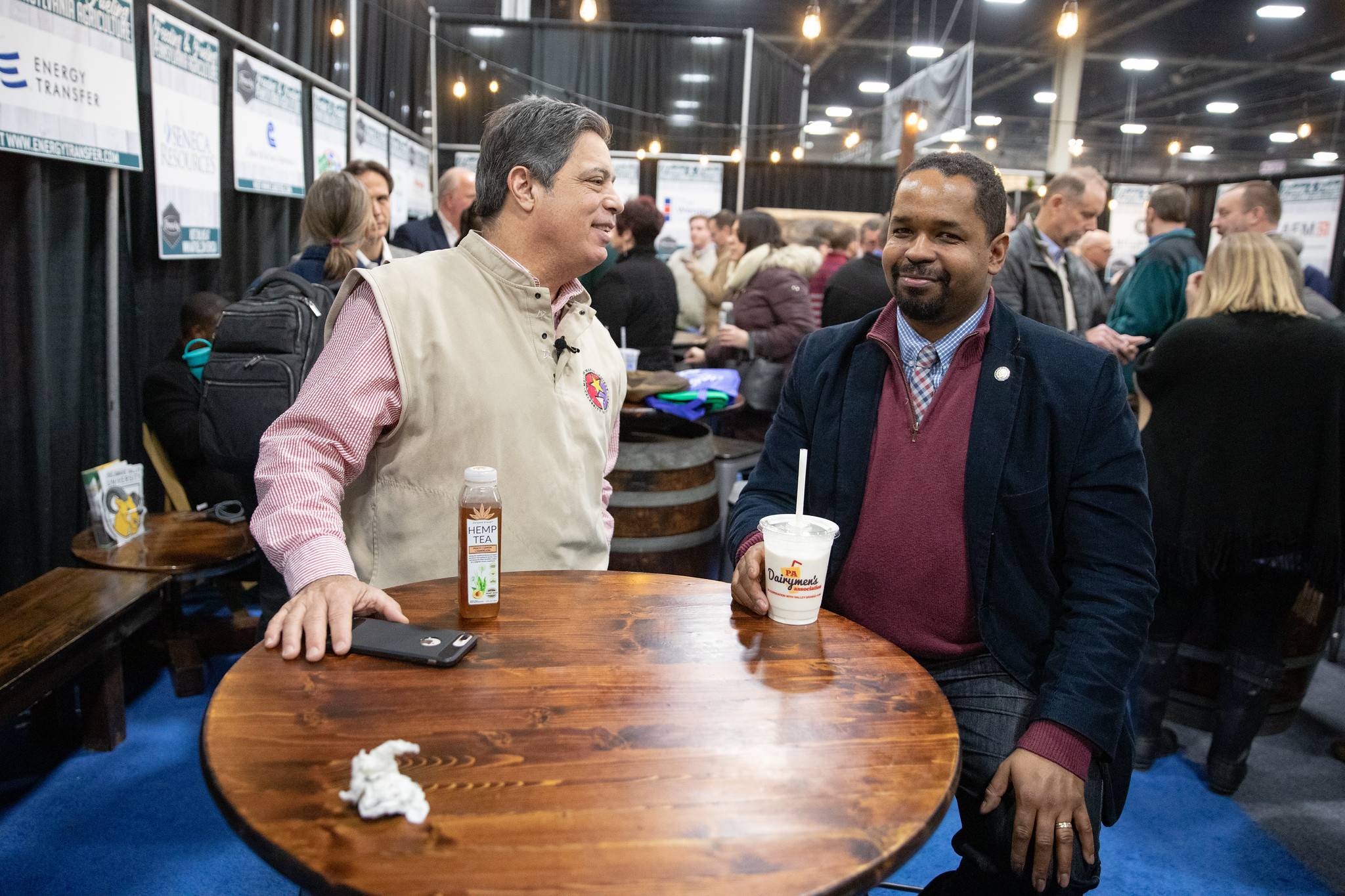 January 8, 2020: Senator Sharif Street tours the 2020 Farm Show.