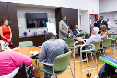 August 26, 2019: Sen. Street partnered with the Attorney General's Office and a local financial planner to hold a financial literacy seminar at InnovAge Life Center in Philadelphia.
