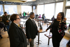 December 5, 2019:  Senator Street take a tour of McDonald's .