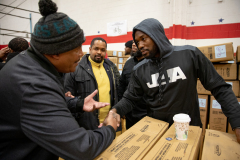 Meek Mill holiday gift drive