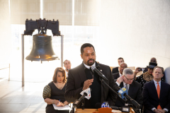 January 20, 2020: Senator Sharif Street attends the MLK Day National Bell Ringing Ceremony and 37th Annual Awards And Benefit Luncheon.