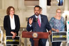 June 25, 2019: State Senator Sharif Street hosts press conference calling for Parole Reform .