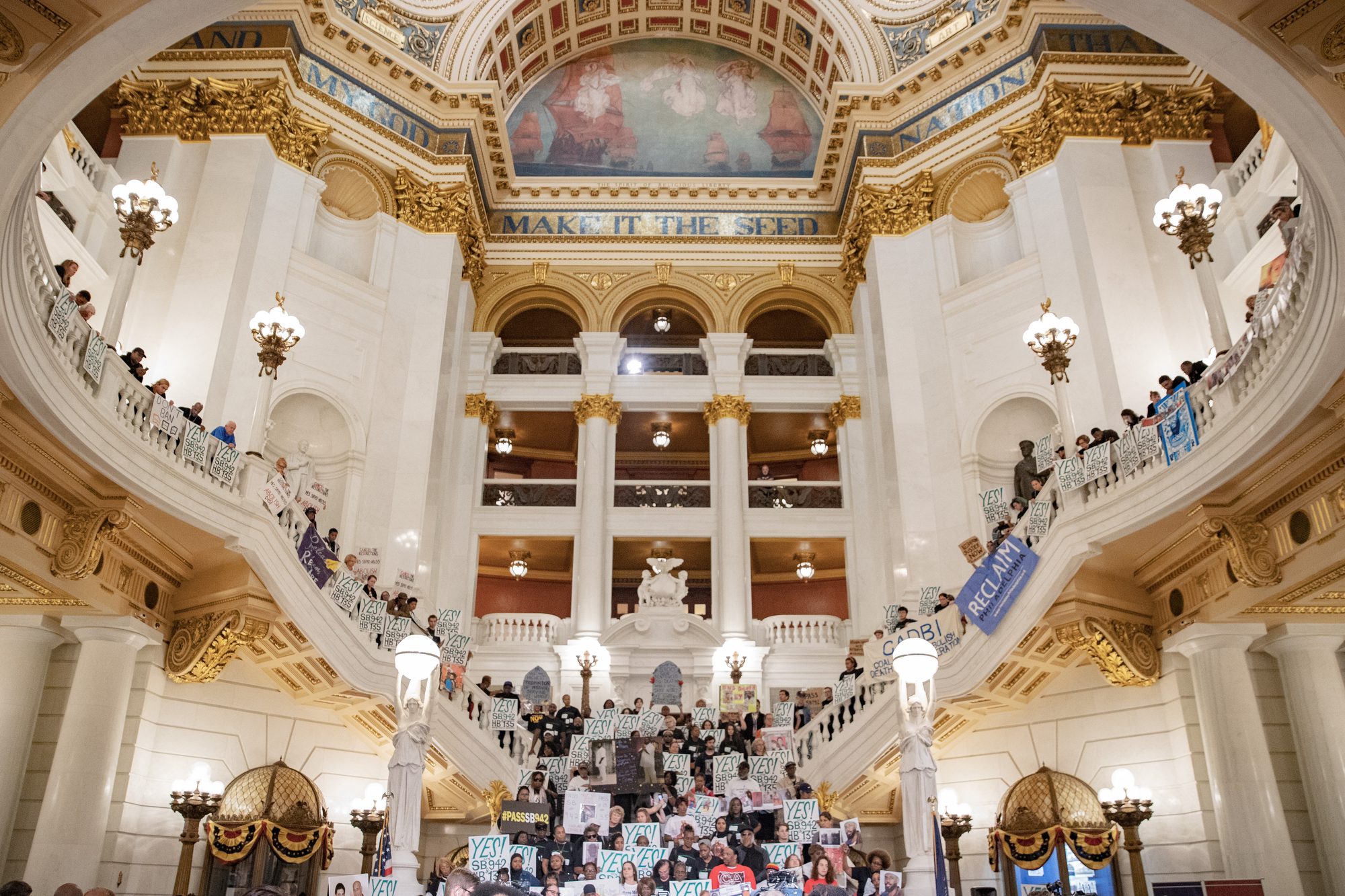 Bipartisan Coalition & 400 Advocates Join PA Senator Sharif