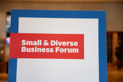 September 19, 2019:  Senator Sharif Street hosts annual Small and Diverse Business Forum .