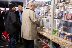 "December 9, 2019: Sens. Sharif Street and Anthony Williams were joined by Law and Justice Committee Chair Sen. Pat Stefano in Philadelphia  for a tour of nuisance liquor establishments known as ""Stop n Go"" stores, which flout restaurant liquor regulations to serve shots of liquor to adults and bags of candy to children side by side."