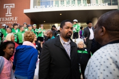 April 27, 2019: Senator Sharif Street welcomes the Team 26 Sandy Hook Riders to Philadelphia. Team 26 rides to Pittsburgh uniting Newtown with Squirrel Hill in order to reduce Gun Violence.