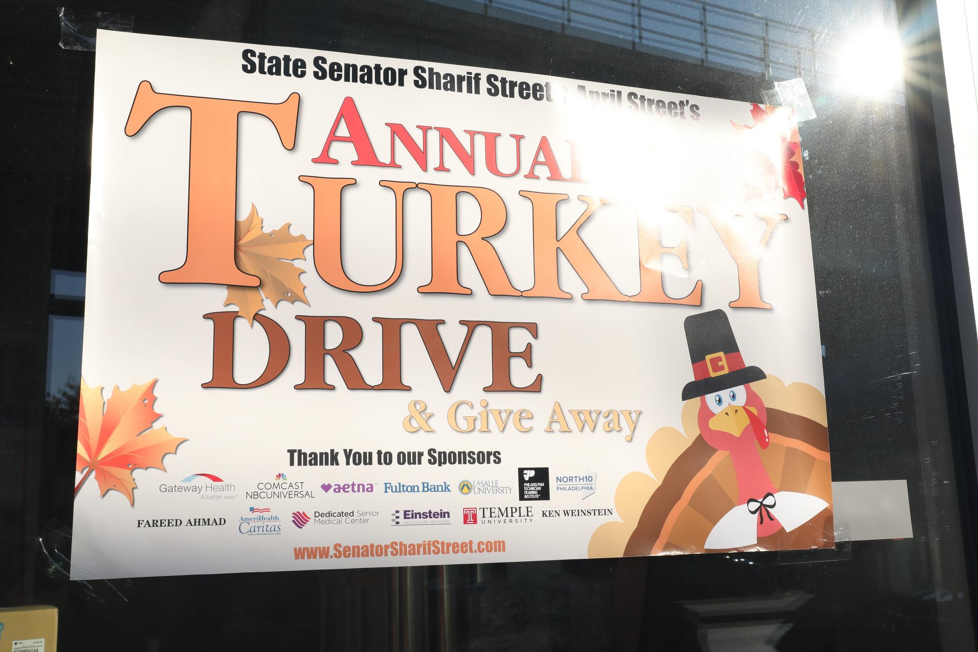 Street Turkey Giveaway