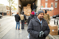 November 15, 2019: Senator Sharif Street hosts his 18th Annual Turkey Drive