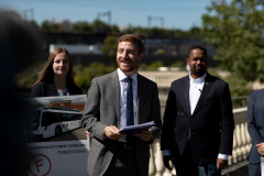 September 17, 2019: Senator Sharif Street joins PennEnvironment to release a new report, Volkswagen Settlement State Scorecard: Ranking the states on their plans for the VW mitigation trust funds.