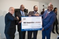 March 9, 2018: Street Presents a $1 Million Redevelopment Assistance Grant to WES Corporation