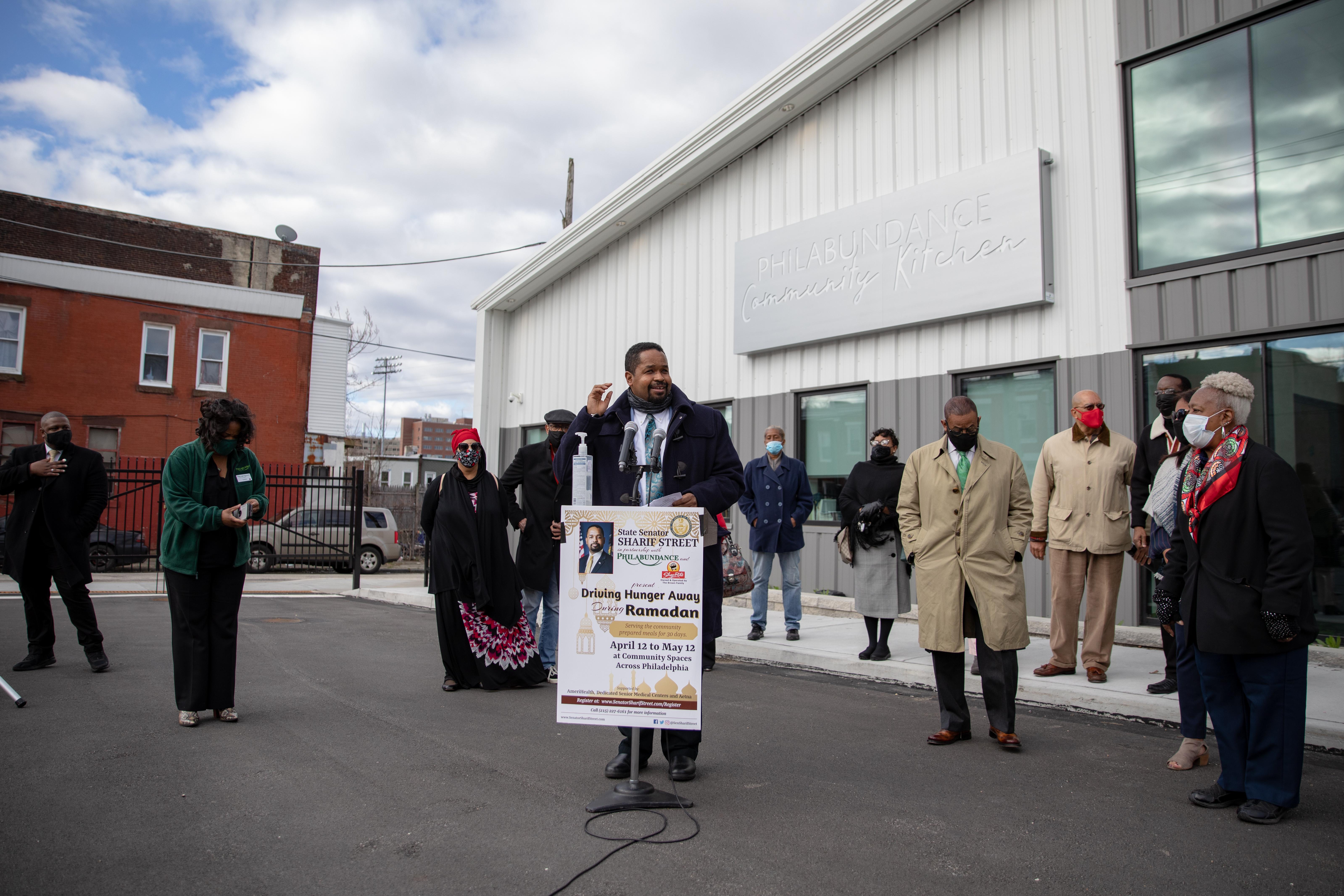 March 29, 2021: Philabundance and Shoprite Partner with Senator Street for 30 Day Food Drive During Ramadan