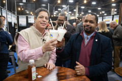 January 8, 2020: Senator Sharif Street tours the 2020 Farm Show.
