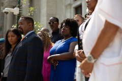 July 6, 2021: Sen. Street & Family gather with law enforcement and advocates to speak on this tragedy and the investigation.