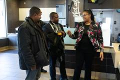 December 5, 2019:  Senator Street take a tour of McDonald's .