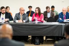 February 10, 2020: Sharif Street attends meeting of Nuisance Establishment Task Force.