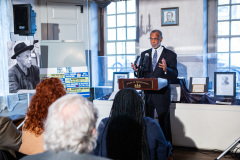 December 2, 2019 – Senator Sharif Street (D-Philadelphia) joined Senator Art Haywood (D-Montgomery/Philadelphia) and local elected officials for a dual event focused on economic justice: Senator Haywood announced the People's Budget and the completion of the Poverty Report at the Johnson House Historic Site in Germantown.