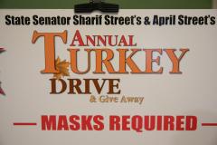 November 13, 2020: Senator Sharif Street hosts his 19th Annual Turkey Drive
