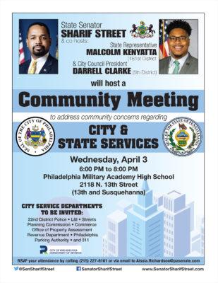 Community Meeting - April 3, 2019