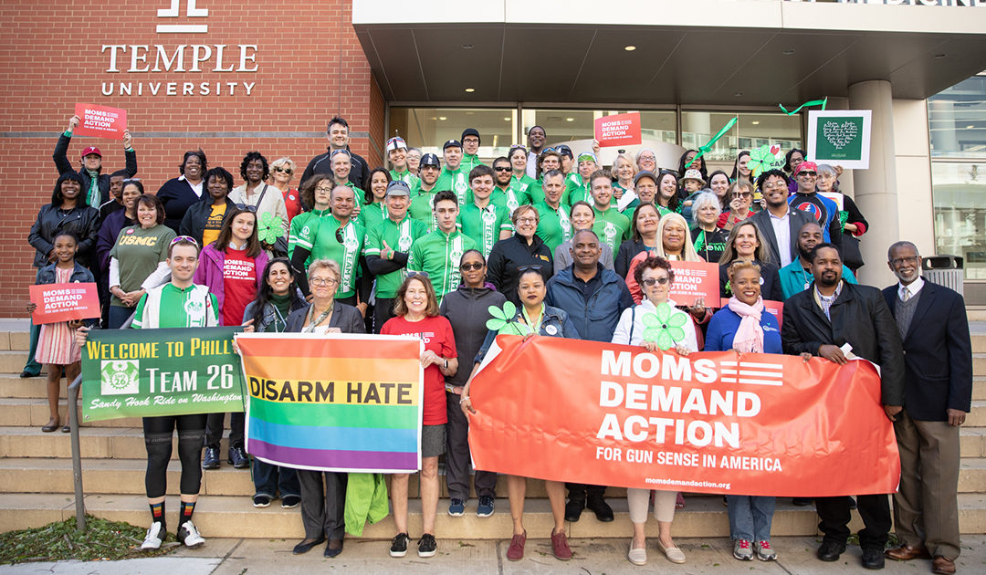 Moms Demand Action and CeaseFire PA Join Senator Street to Welcome Team 26 to Philadelphia