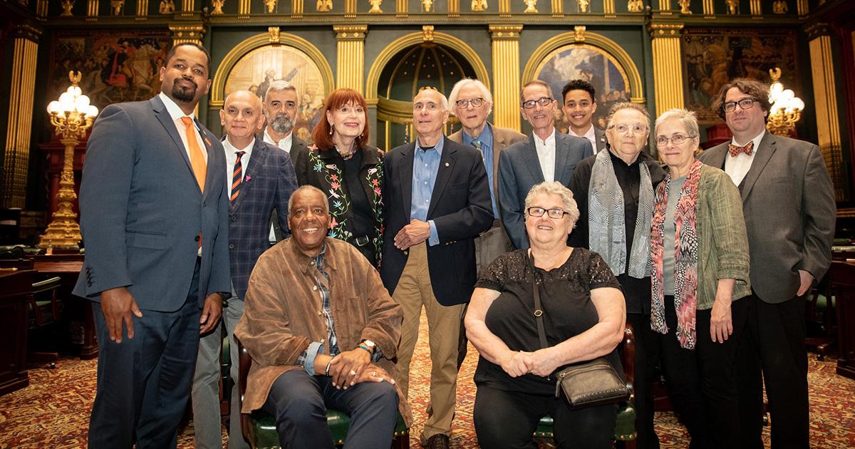 Senator Street Recognizes LGBTQ+ Pioneers for Years of Activism