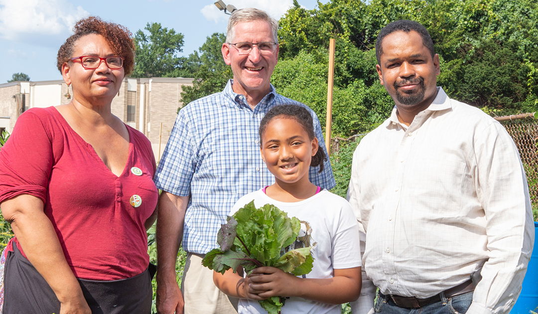 Sen. Street Joins PA Secretary of Agriculture to Announce Urban Agriculture Grants
