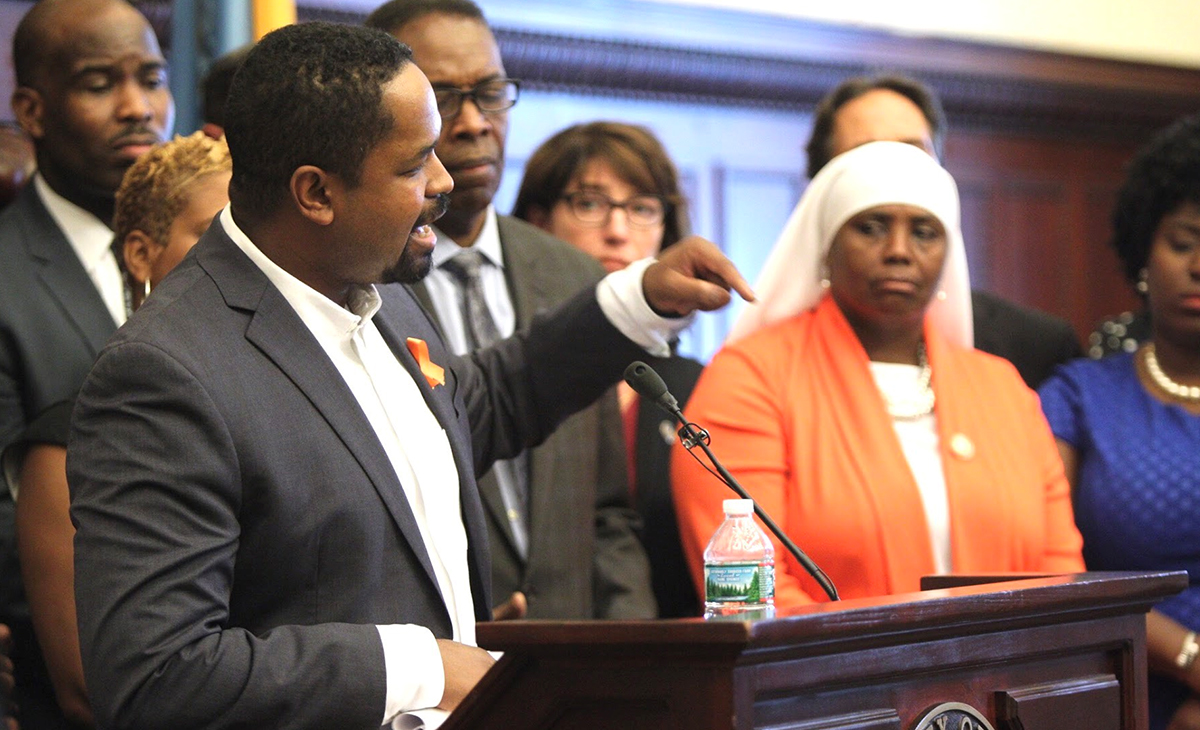 Senator Street Offers Military Grade Weapon Ban