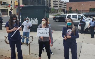 Senator Street Marches with Health Heroes on May Day, Calls for $200 Million Boost to Nursing Homes in PA CARES Act