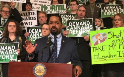 Senate Democrats Urge Leadership on Adult Use