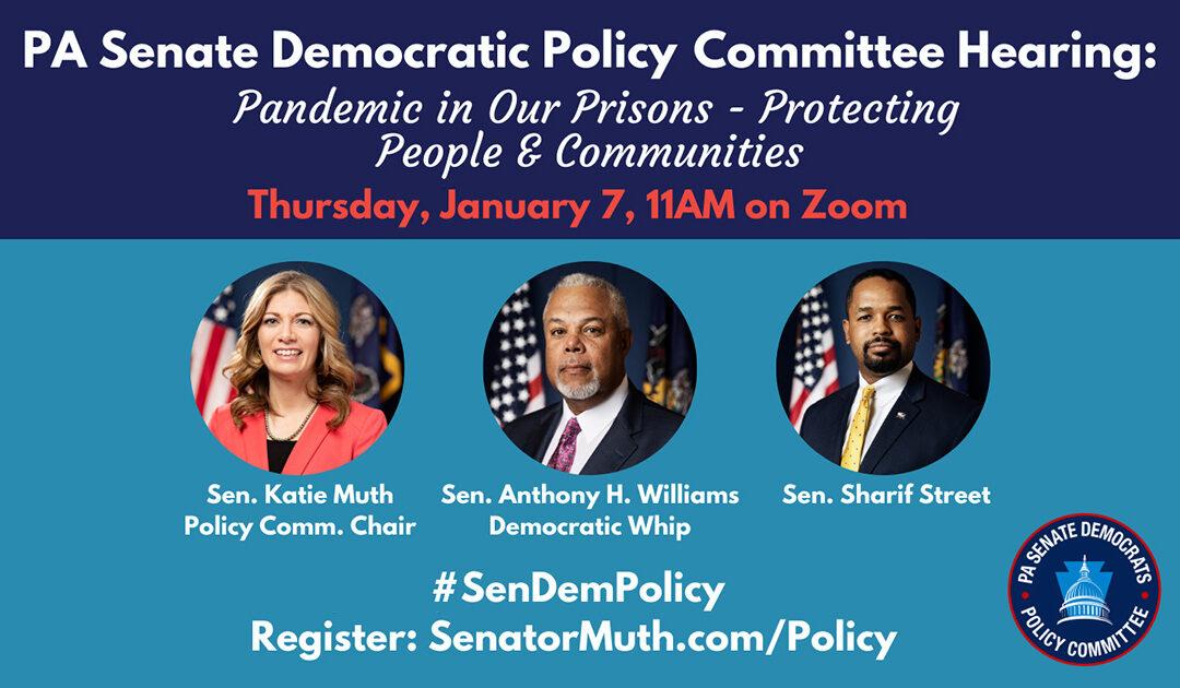 Policy Hearing - January 7, 2021