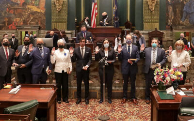 Senator Sharif Street is Sworn in to his Second Term in the Pennsylvania Senate