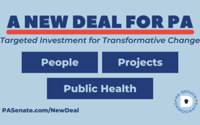PA Senate Democrats Introduce Spending Plan for $7 Billion in Federal American Rescue Plan Funds – The New Deal For PA
