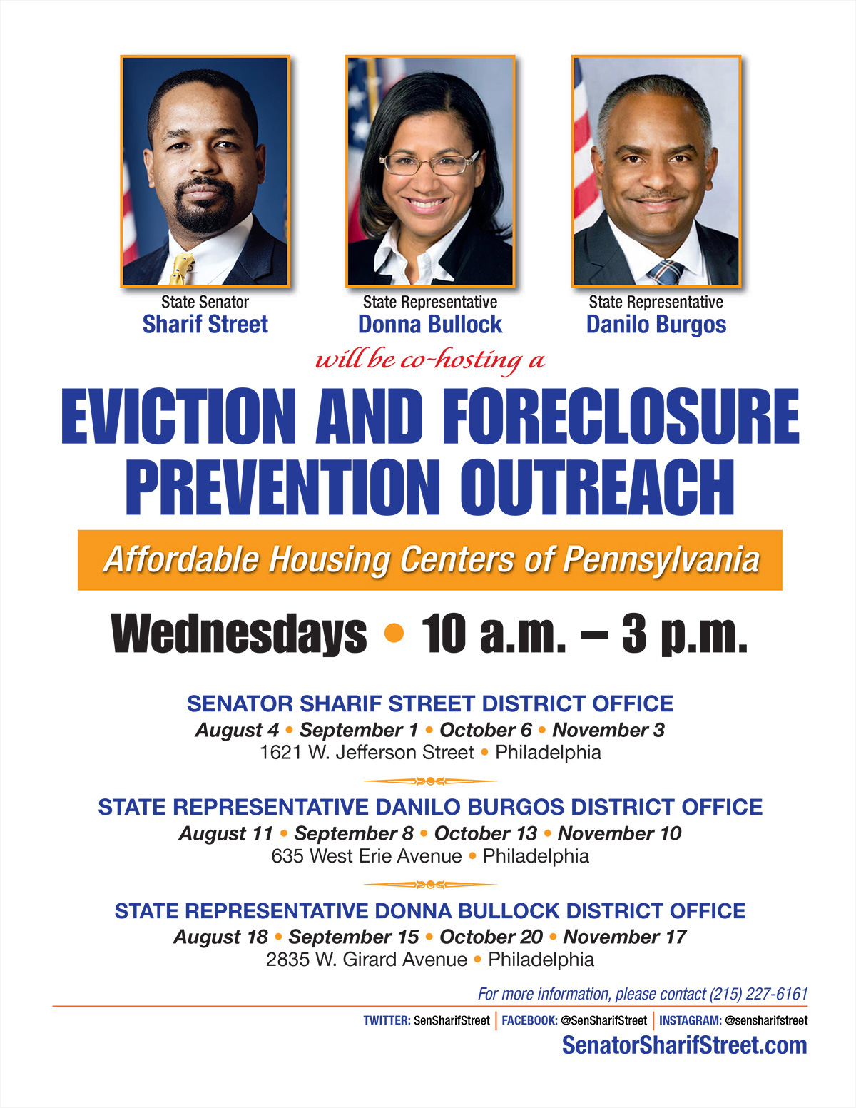 Eviction and Foreclosure Prevention Outreach