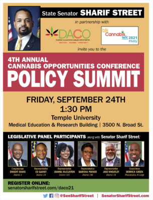 4th Annual Cannabis Opportunities Conference Policy Summit