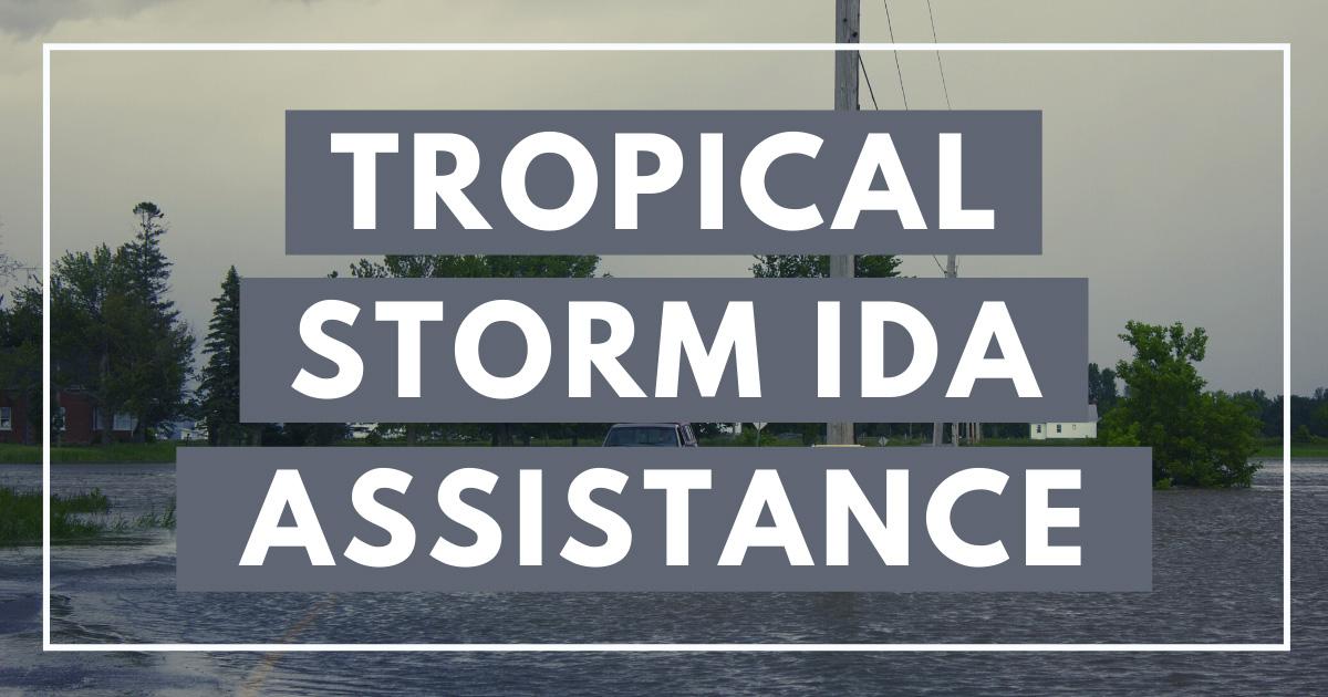 Tropical Storm Ida Assistance